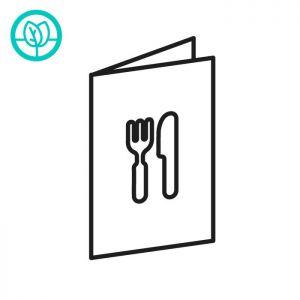 Duurzame-menukaarten
