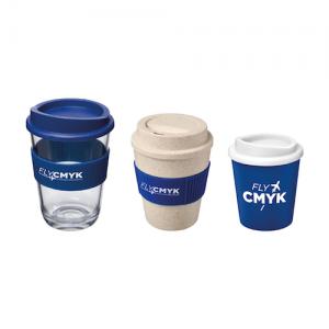 Koffiebekers met logo